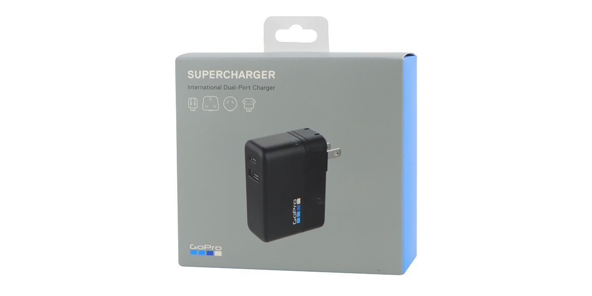 Сетевое зарядное устройство GoPro Supercharger (AWALC-002-RU) упаковка