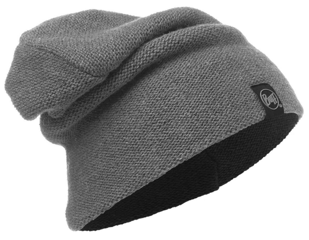 Длинные шапки Вязаная шапка-бини Buff Colt Grey Pewter 116028.906.10.00.jpg