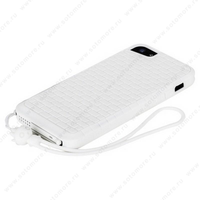 Накладка HOCO для iPhone SE/ 5s/ 5C/ 5 - HOCO Cool·Great Wall TPU crystal case White