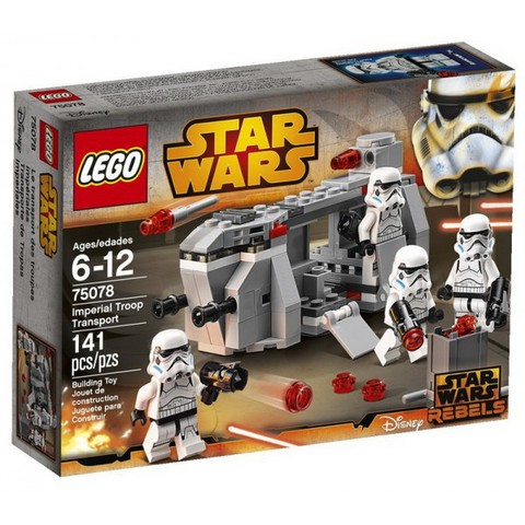 LEGO Star Wars: Транспорт Имперских Войск 75078 — Imperial Troop Transport — Лего Звездные войны