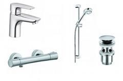 Комплект душевой системы внутреннего монтажа Kludi Pure&Solid 348490575 фото