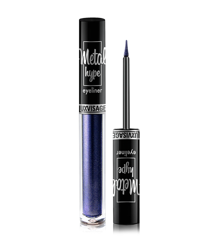 LuxVisage Metal hype Цветная подводка для глаз тон 3 (Sapphire Blue) 1г