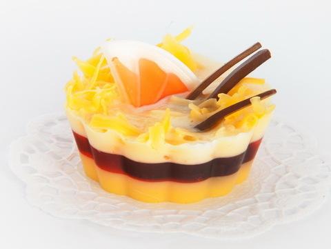 Мыльное ассорти/пирожное: АПЕЛЬСИН И КОРИЦА ДЕСЕРТ, 110g TM ChocoLatte