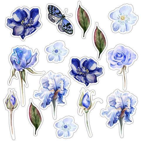 Печать на сахарной бумаге, Набор цветы 6