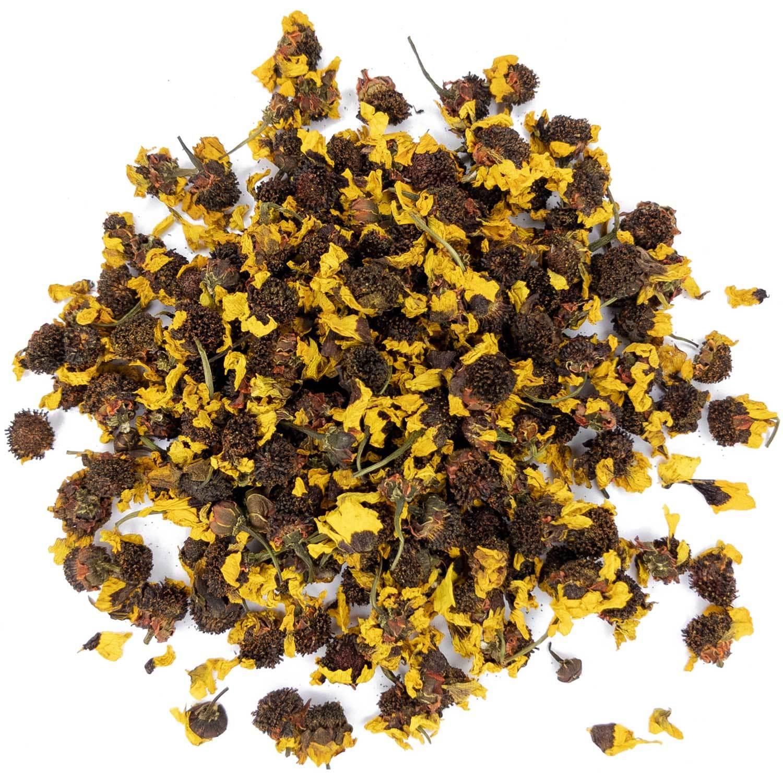 Травы и добавки Хризантема снежная, цветы хризантемы для чая, 100 гр hrizantemy-brown-teastar.jpg