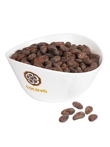 Какао-бобы цельные (Сан-Томе), внешний вид