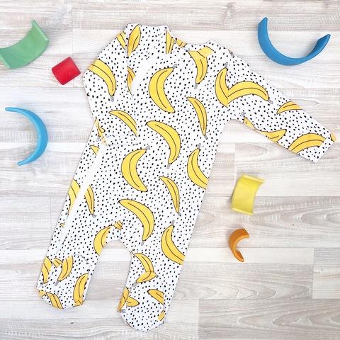 Комбинезон Mjölk Sleep and Play Бананы