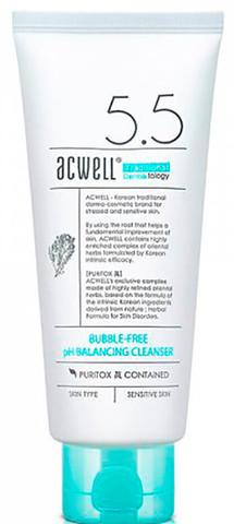 Универсальное Средство Для Умывания И Снятия Макияжа ACWELL Bubble-Free pH Balancing Cleanser