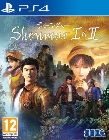 PS4 Shenmue I & II (английская версия)