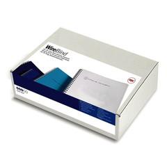 Пружины для переплета металлические GBC 8 мм белые (100 штук в упаковке)