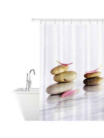 Tatkraft / Tatkraft STONE GARDEN Тканевая штора для ванной комнаты