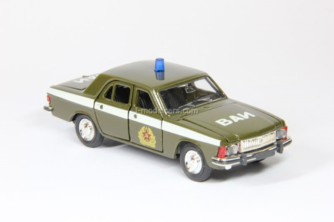 GAZ-3102 Volga VAI Military Vehicle Inspection Agat Mossar Tantal 1:43