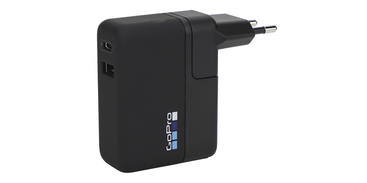 Сетевое зарядное устройство GoPro Supercharger (AWALC-002-RU) внешний вид
