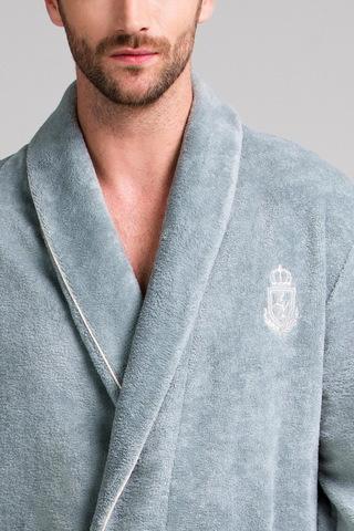 Мужской бамбуковый халат 11007-4 Laete