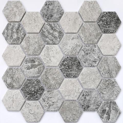 Мозаика керамическая Olmeto Grey 282х271
