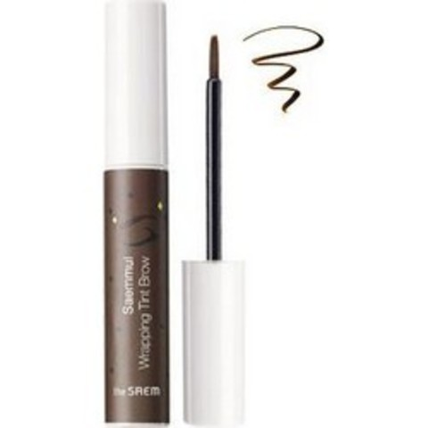 THE SAEM EYE Тинт для бровей Saemmul Wrapping Tint Brow BR02 Dark Brown 10гр