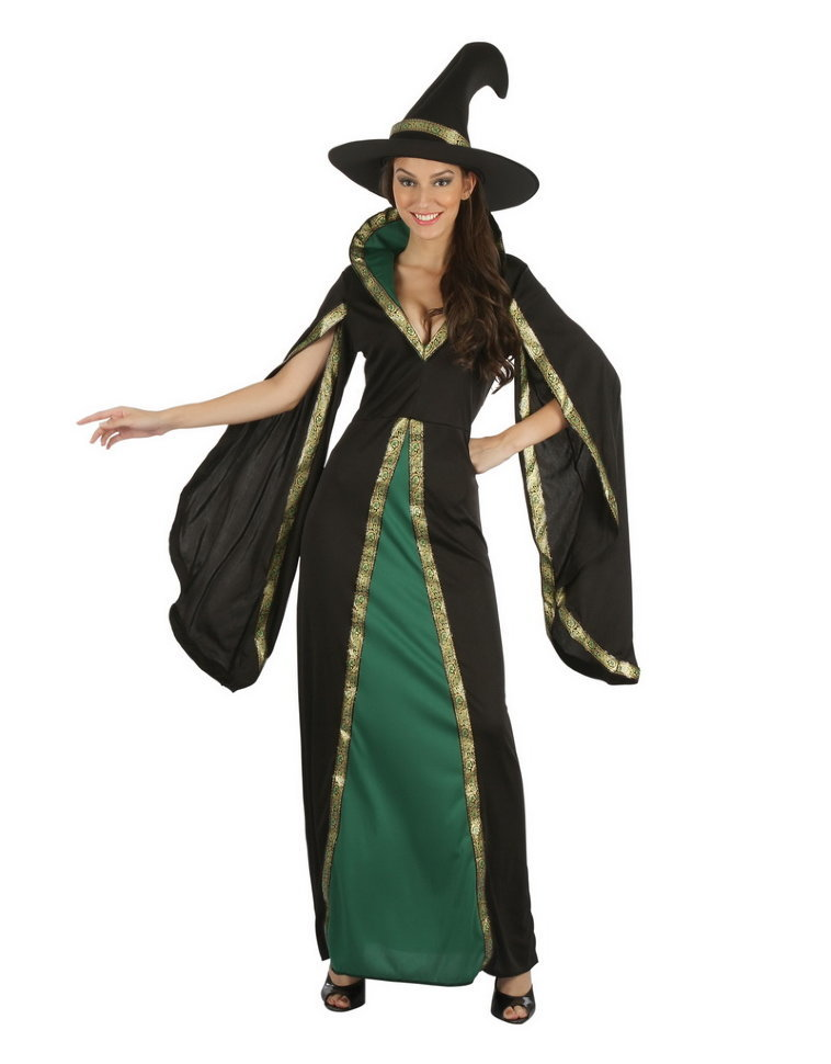Платье Ведьмы средневековый стиль