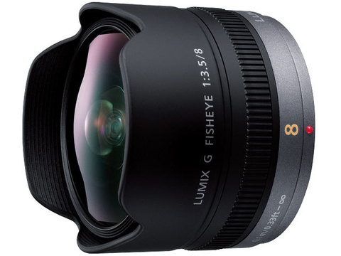 Объектив Panasonic Lumix G Fisheye 8mm f/3.5 H-F008 Black