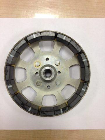 Якорь DDE (ротор) DPG1101i стальной  (1101-0950-0128), шт