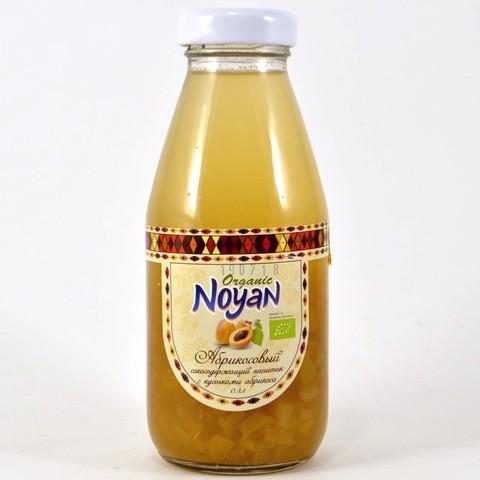 Напиток из абрикоса с кусочками ORGANIC Noyan, 330мл