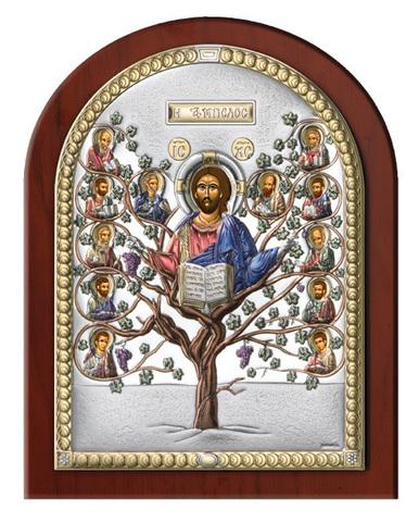 Серебряная икона Древо Жизни