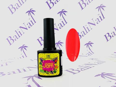 TNL Гель-лак Summer Jam 18 - неоновый светло-коралловый, 10 мл