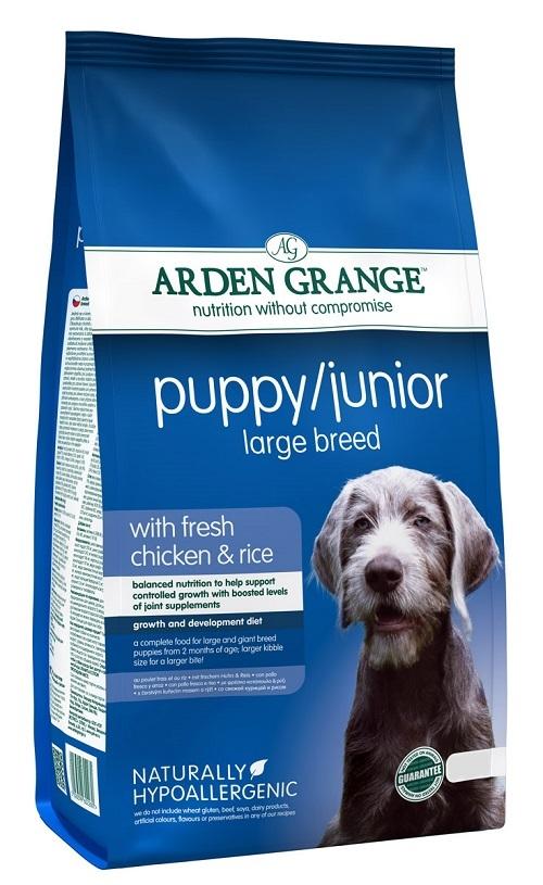 Каталог Сухой корм для щенков и молодых собак крупных пород, Arden Grange Puppy/Junior Large Breed, с курицей AG602280.jpg