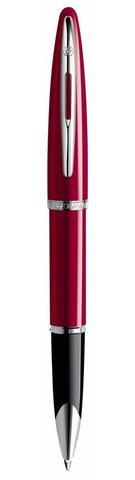 *Ручка-роллер Waterman Carene, цвет: Glossy Red Lacquer ST, стержень: Fblack
