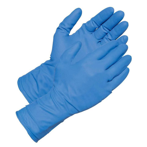 Перчатки нитрил MDC (TN303XL) XL-size голубого цвета 200 пар/уп