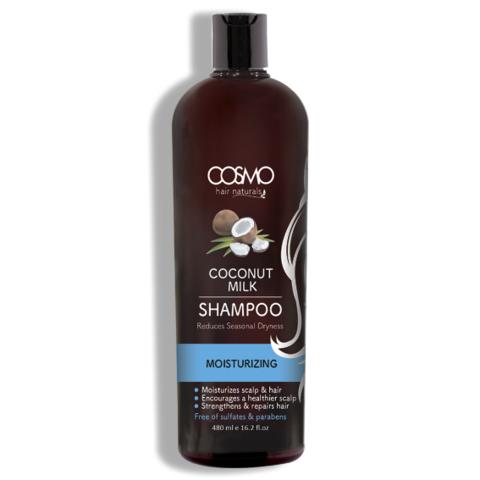 Увлажняющий шампунь с кокосовым молоком Cosmo Coconut Milk Shampoo (480 мл)