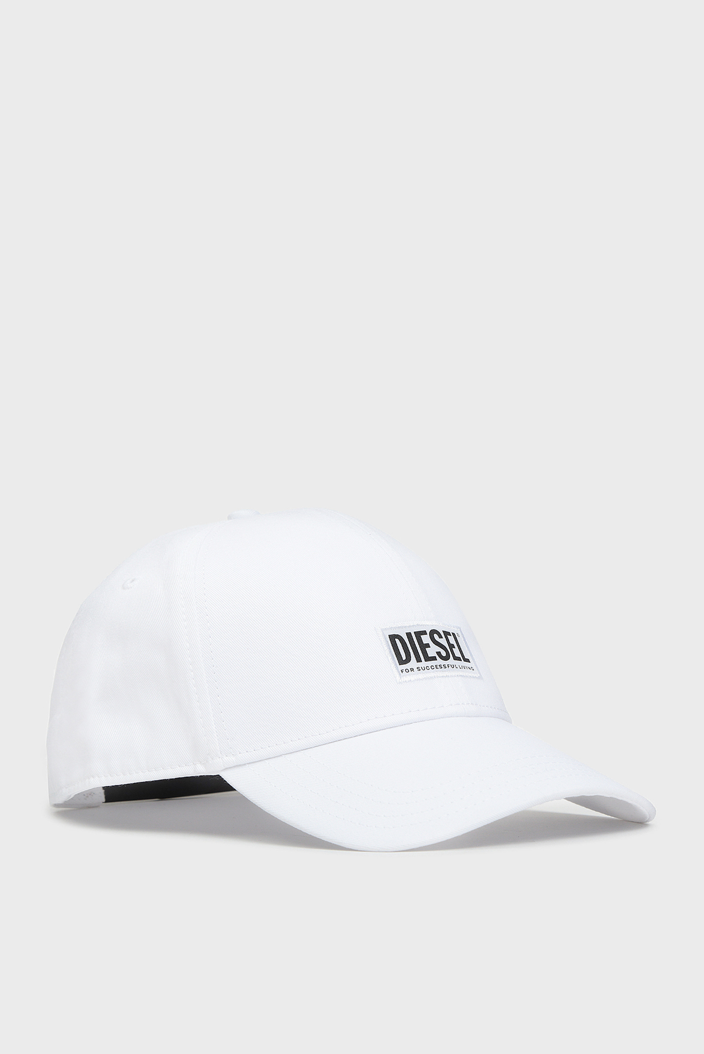 Белая кепка CORRY Diesel
