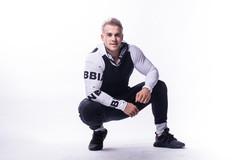Мужская кофта Nebbia Logo Taping 727 black