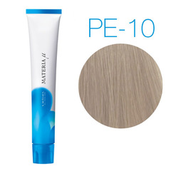 Lebel Materia Lifer Pe-10 (яркий блондин перламутровый) - Тонирующая краска для волос