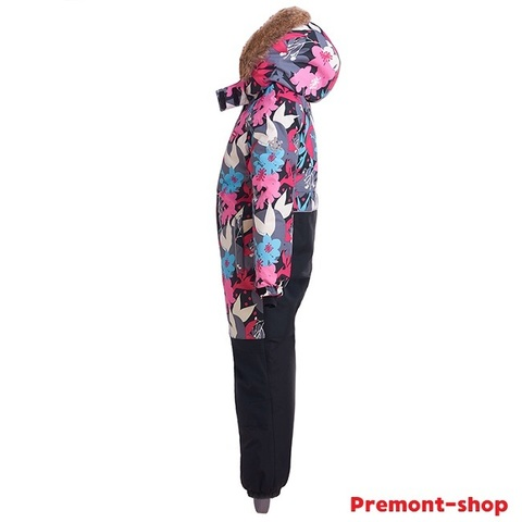 Комбинезон Premont для девочки Сад под снегом WP91171 GREY