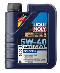 3925 LiquiMoly НС-синт.мот.масло  Optimal Synth 5W-40 SN/CF;A3/B4(1л)