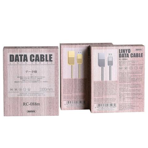 Кабель Remax для айфона RC-088m Linyo series с разъемами USB Lightning