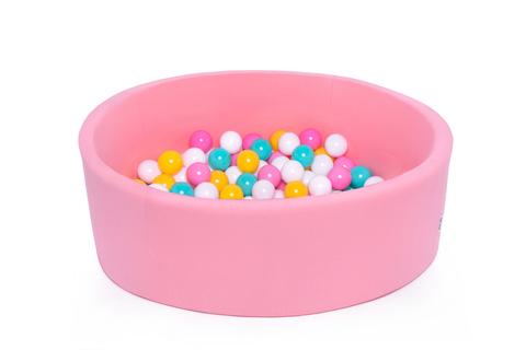 Сухой бассейн персик 100/30см Anlipool комплект №48 Multicolour