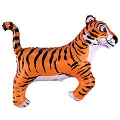 F Мини фигура Тигр (черный) / Tiger (14