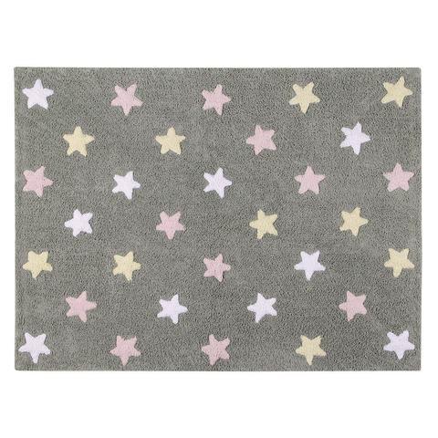 Ковер Lorena Canals Tricolor Stars Grey-Pink (120 х 160)