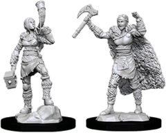 D&D Nolzur's Marvelous Miniatures - Female Human Barbarian