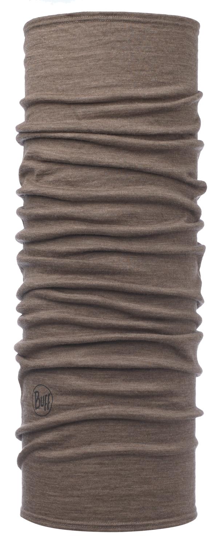 Шерстяные шарфы Шарф-труба шерстяной Buff Solid Walnut Brown Medium-113010.327.10.00.jpg