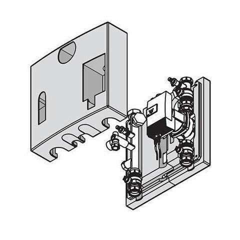 Комплект подключения отопительного контура с насосом для Viessmann Vitodens 200-W