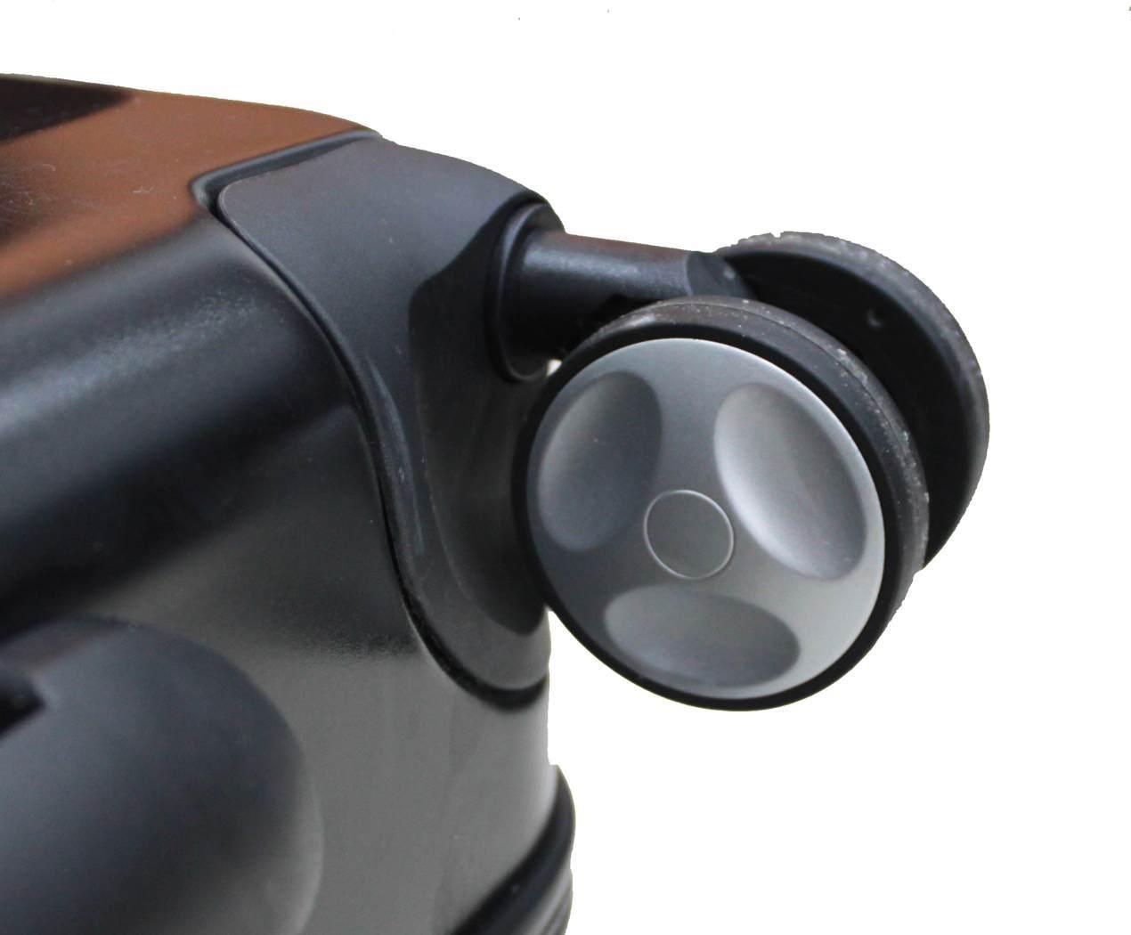 Чемодан SunVoyage Elit SV021-AC069 Черный дымчатый (XL)