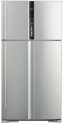 Холодильник с верхней морозильной камерой Hitachi R-V 722 PU1 SLS