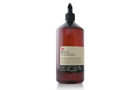 ANTI-YELLOW Шампунь для нейтрализации жёлтого оттенка волос (900 мл)