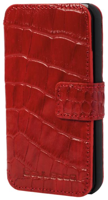 iPhone 4/4s Кожаный чехол-книжка Bouletta (Портмоне) Красный-К4