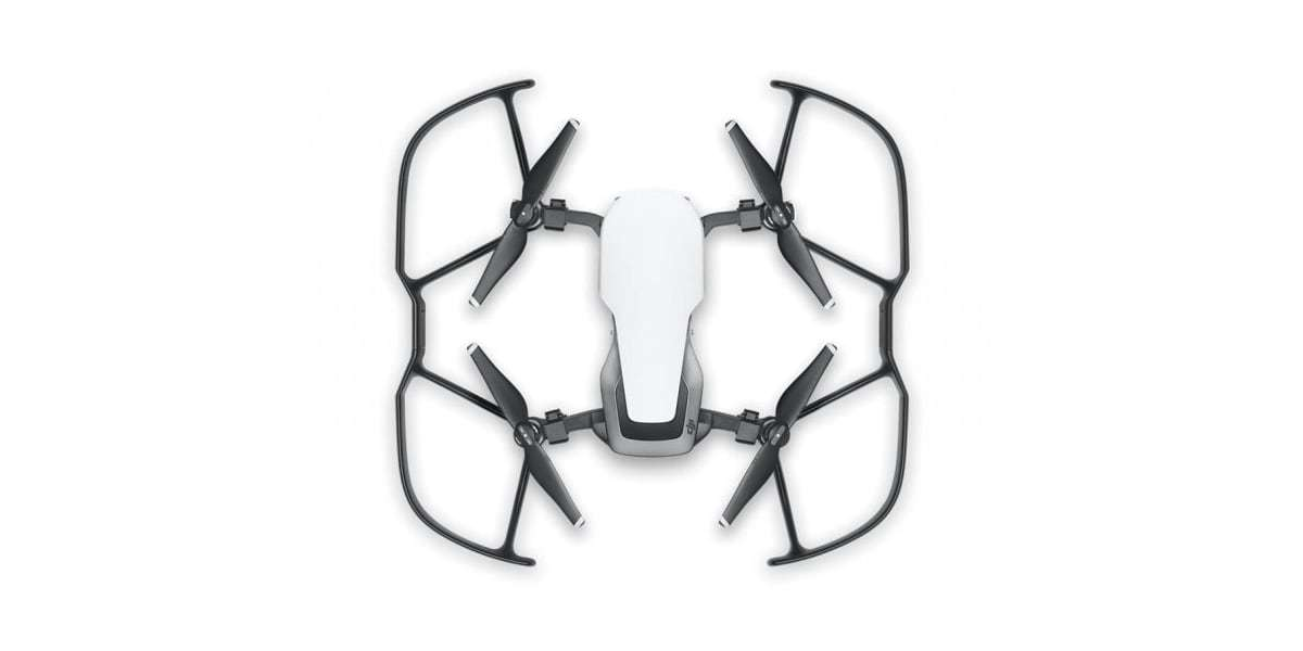 Защита пропеллера DJI Mavic 2 Propeller Guard (Part14) на дроне вид сверху