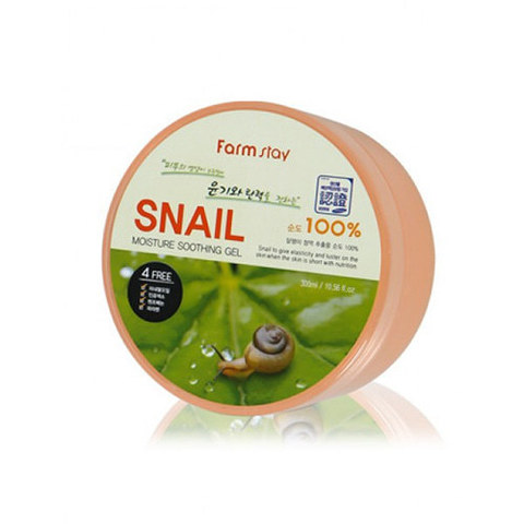 Гель Farmstay Moisture Soothing Gel Snail 300ml