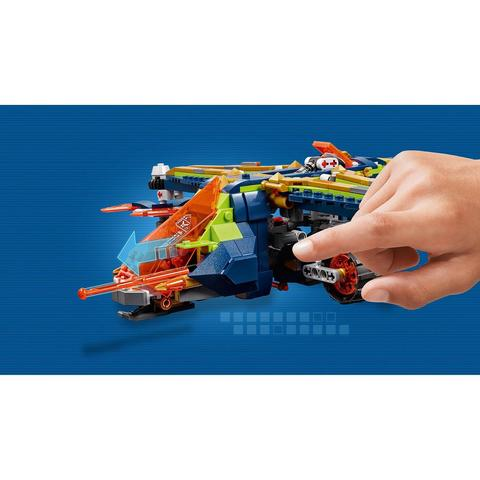 LEGO Nexo Knights: Аэро-арбалет Аарона 72005 — Aaron's X-bow — Лего Нексо Рыцари