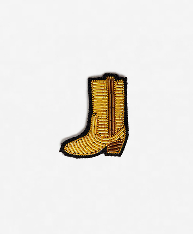 Брошь Gold boot